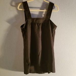 Black Square Collar Jumper Dress NWT